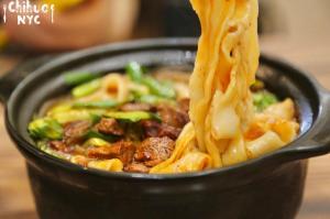 砂锅牛肉烩面